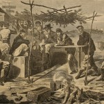 Thanksgiving in Camp, 1862.
