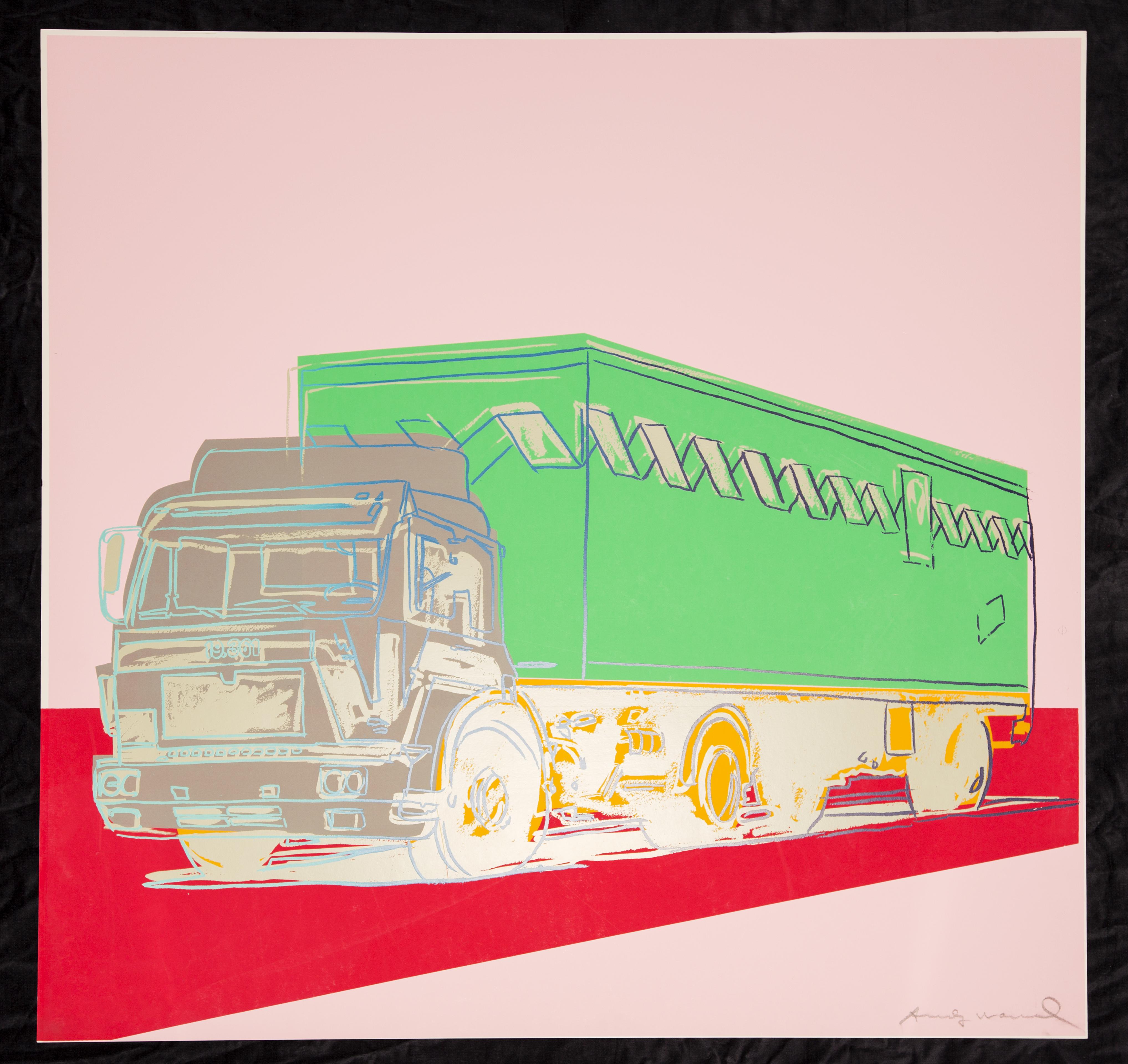 Warhol_Pink Truck