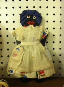 """Mammy"" doll for sale at Street of shops in Lewisburg, PA."