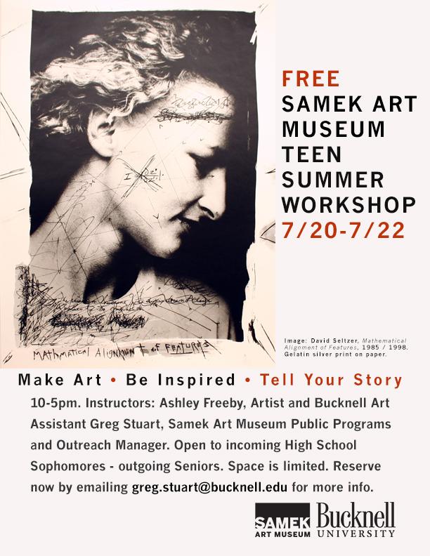 Teen Workshop poster 16