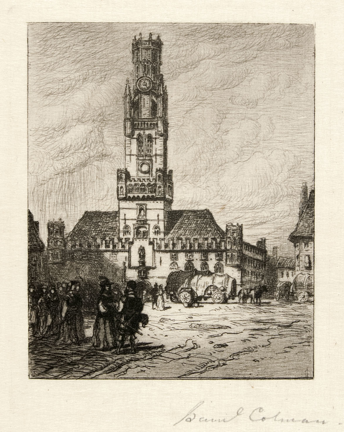 The Belfry at Bruges