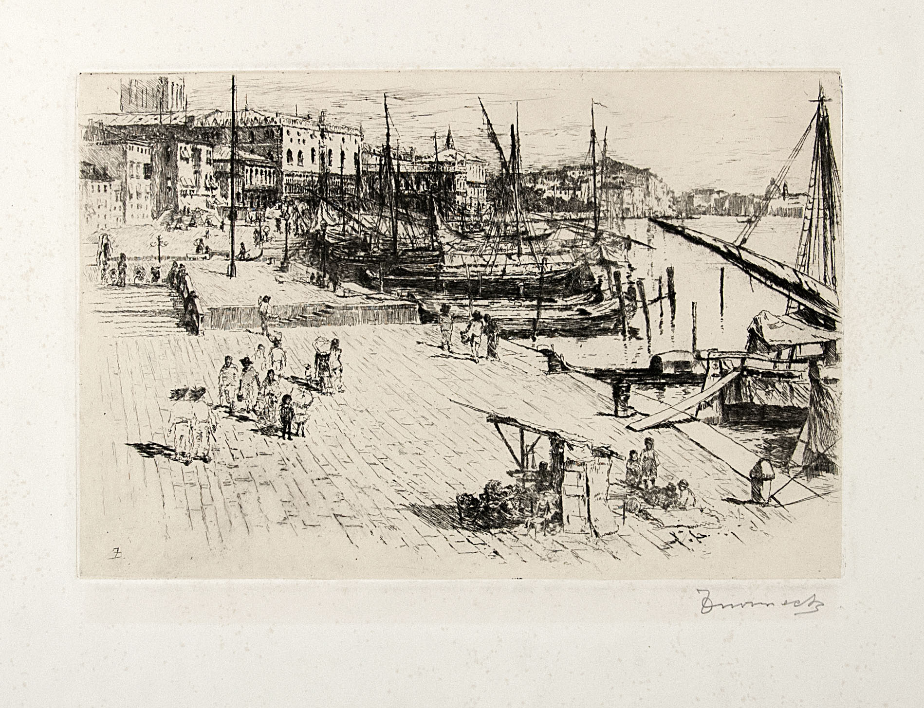 Riva Degli Schiavoni, Venice, No. 1