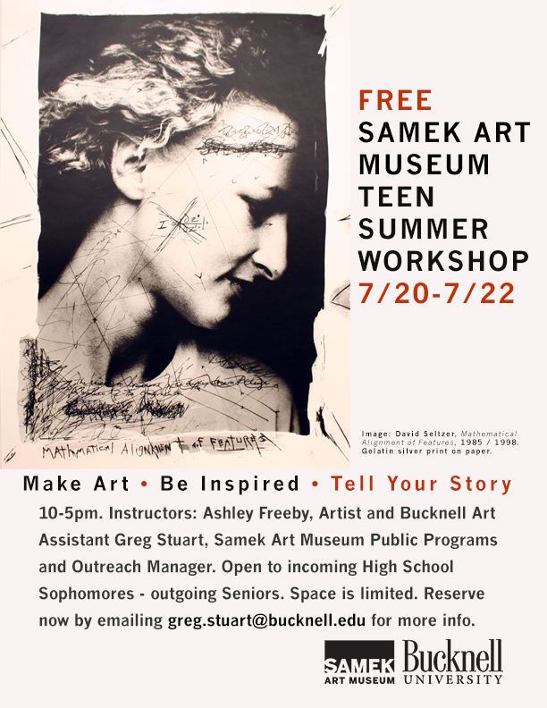 Teen Summer Workshop 2016 – Tell Your Story (7.20 – 7.22)