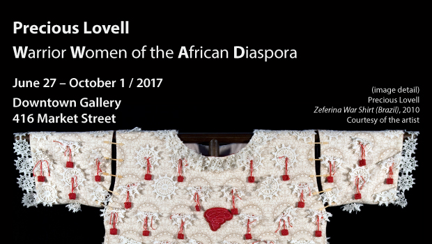 Precious Lovell: Warrior Women of the African Diaspora – Opens June 27